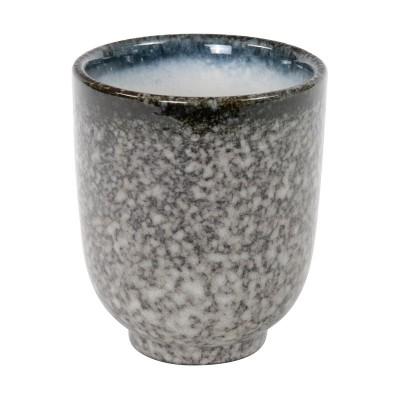 Teetasse 'Tajimi' schwarz-weiß
