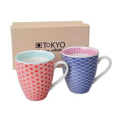 Teetassen-Set 'Asanoha Seigaiha'