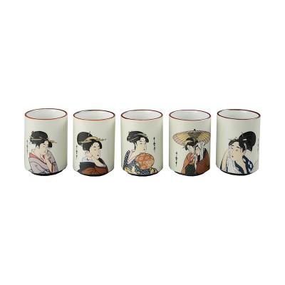 Teetassen Set 'Utamaro'