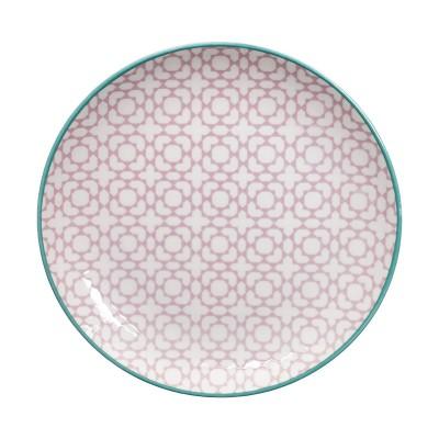 Teller 20,6 cm 'Kidowaku - Komezashi' lila