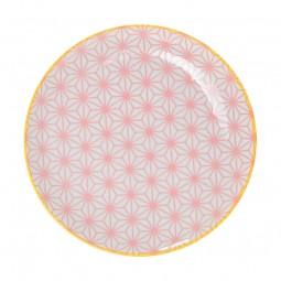 Teller 'Asanoha Seigaiha – Pink'