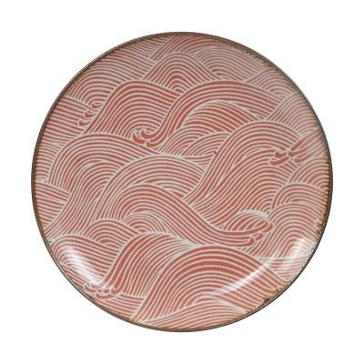 Teller 'Burashi aka - Nami' Rot 21,5cm