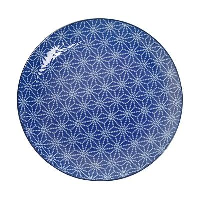 Teller 'Japan Blau – Asanoha' 23,8cm