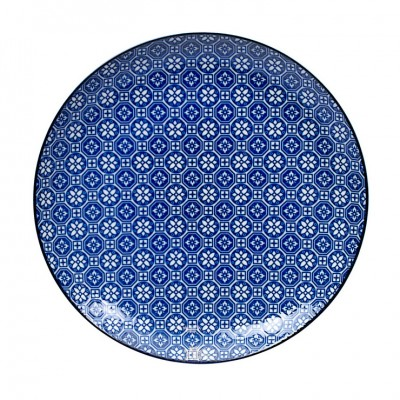 Teller - Japan Blau - Hakkakushokko 25,7cm