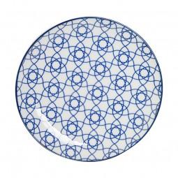 Teller 'Japan Blau – Kagome Hana' 16cm