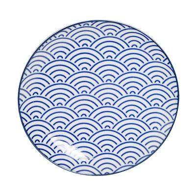Teller 'Japan Blau – Seigaha' 16cm