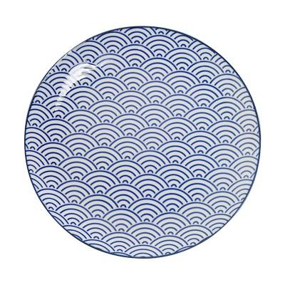 Teller 'Japan Blau – Seigaiha' 23,8cm