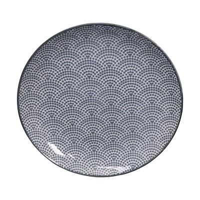 Teller - Japan Grau - Samekomon 20,6cm