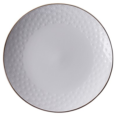 Teller - Japan Weiß Asanoha