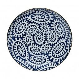 Teller - Karakusa Blau 15,5cm