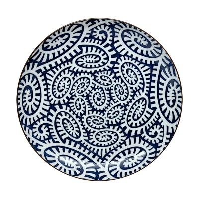 Teller - Karakusa Blau 21,5cm