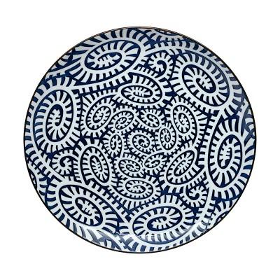 Teller - Karakusa Blau 25cm