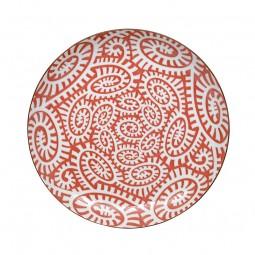 Teller - Karakusa Rot 21,5cm