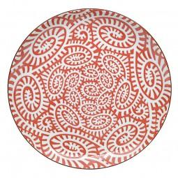 Teller - Karakusa Rot 25cm