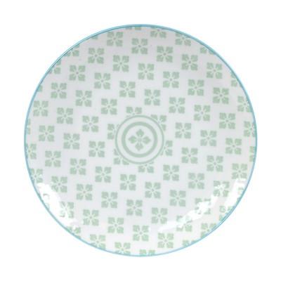 Teller 'Nanairo - Hana grün' 20,6cm