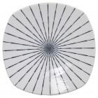 Teller quadratisch 'Tokusa White'