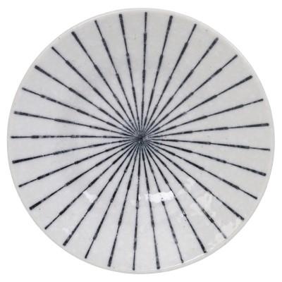 Teller rund 'Tokusa White'