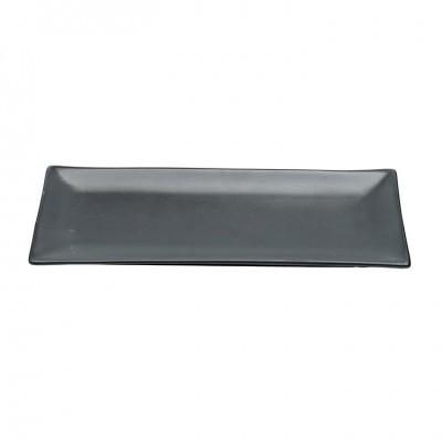 Teller schwarze Serie, matt 26x11cm