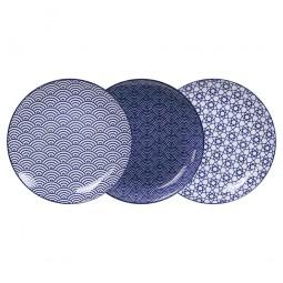 Teller-Set 'Japan Blau' 25,7 cm