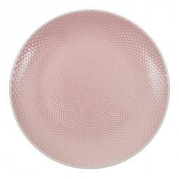 Teller 'Struktur - Mizutama - rosa' 25cm