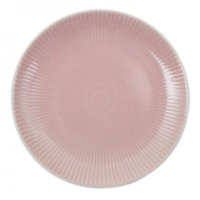 Teller 'Struktur - Shimagara - rosa' 20cm
