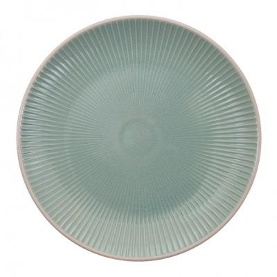 Teller 'Struktur - Shimagara - türkis' 20cm