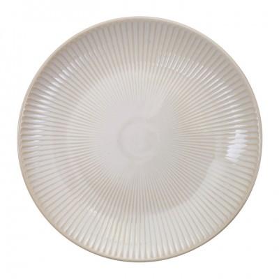 Teller 'Struktur - Shimagara - weiß' 20cm