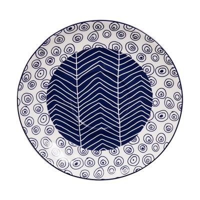 Teller 'Tomekon Herinbon Uzumaki Blue' - 16,5cm