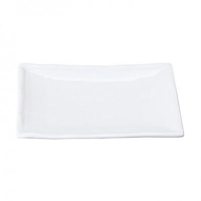 Teller Weiße Serie 17,5x12,5cm
