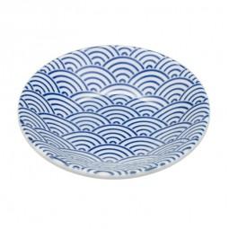 Tellerchen - Japan Blau - Seigaiha 10cm