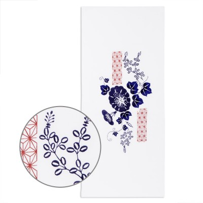 Tenugui Asagao (Blaue Prunkwinde)