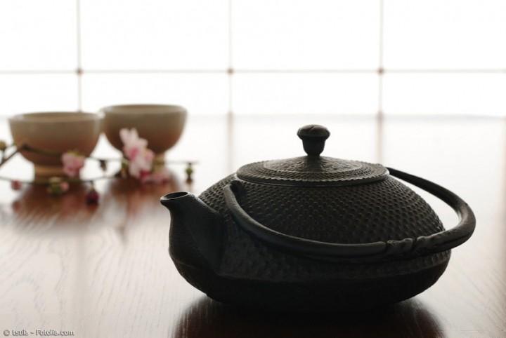 Stilvolle Teezubereitung mit einem echten Tetsubin