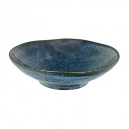 Tiefer Teller 'Kobaltblau' 17x4,9cm