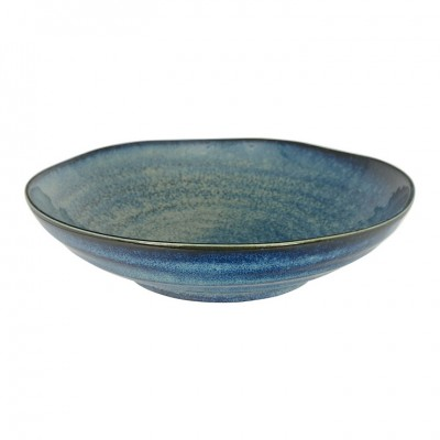 Tiefer Teller 'Kobaltblau' 21x5,2cm