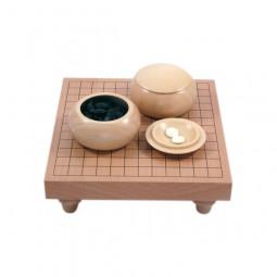Tisch-Set in Buchenfurnier 13x13