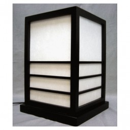 Table Lamp Nikko Black 20X20 H = 28cm