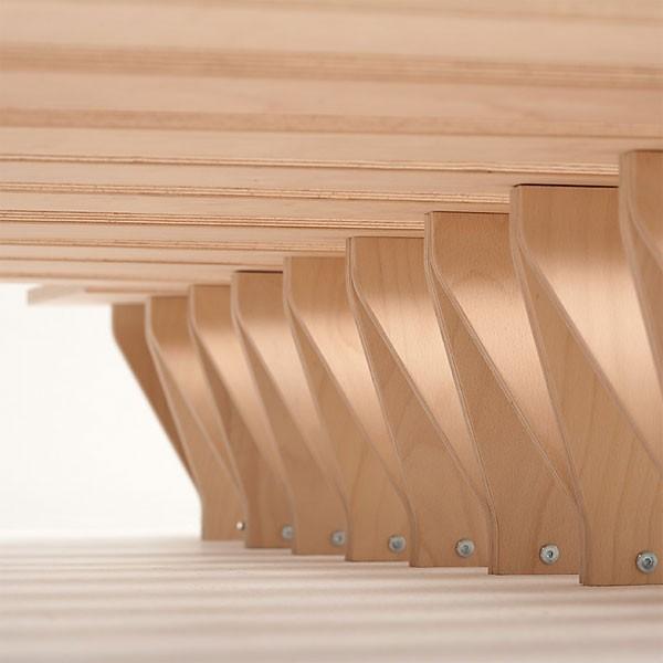 tojo bett lieg tojo designer m bel m bel wohnen japanwelt. Black Bedroom Furniture Sets. Home Design Ideas