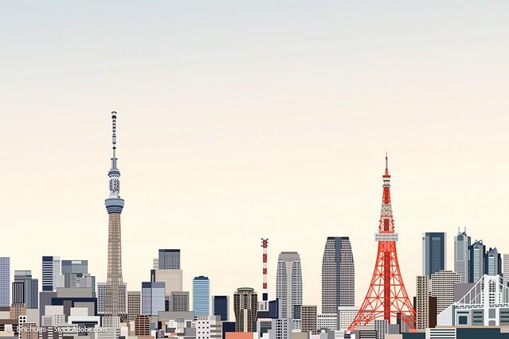 Tokyo Tower vs. Skytree – zwei atemberaubende Fernsehtürme