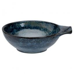 Tonsui Schale mit Griff 'Kobaltblau'