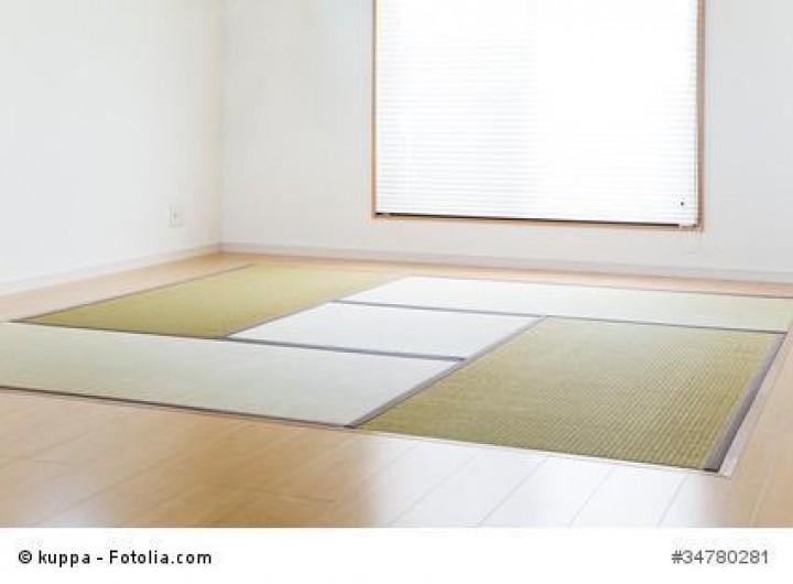 Tatami und Futon sorgen zusammen für ein authentisches Schlafgefühl