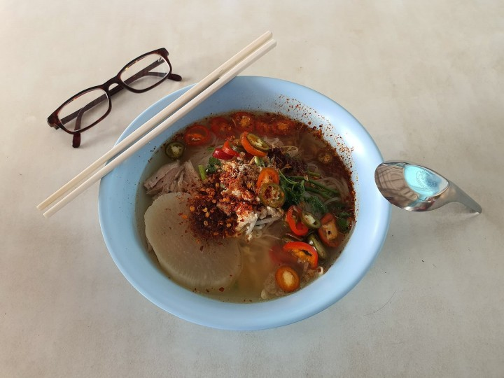 Udon Nudelsuppe: Rezept Okkirikomi aus Gunma