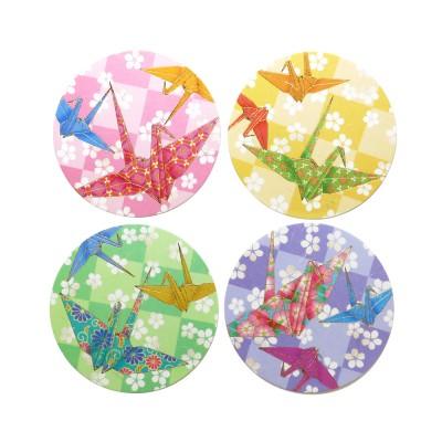 Washi Coaster Orizuru