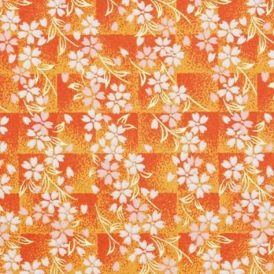 Washibogen Ichimatsu Sakura orange