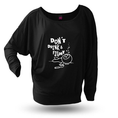 Yakitori Langarmshirt, Don't Drink And Fight