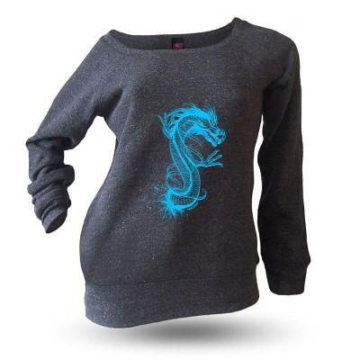 Yakitori Raglansweatshirt, Entei blau