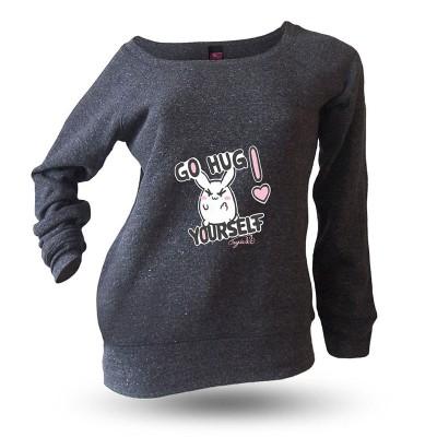 Yakitori Raglansweatshirt, Go Hug Yourself