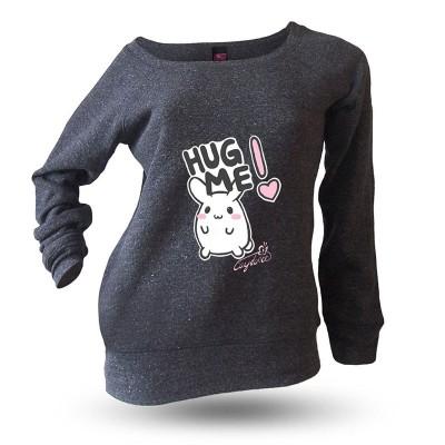 Yakitori Raglansweatshirt, Hug Me
