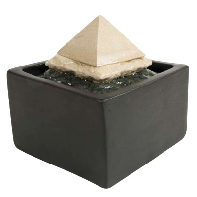 Zimmerbrunnen Pyramide 3