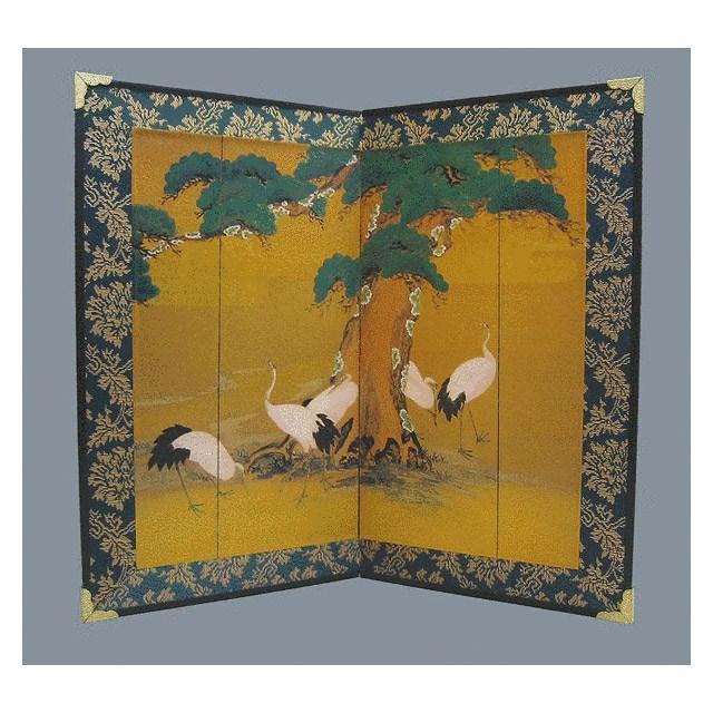 Tisch Paravent Tsuru (Tsuitate)