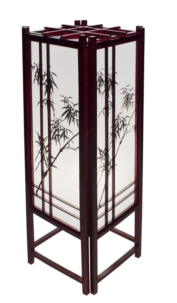 tischlampe arashiyama tisch stehlampen asiatische. Black Bedroom Furniture Sets. Home Design Ideas
